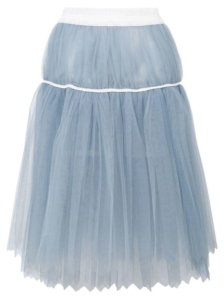 Comme Des Garçons Vintage midi tutu skirt - Blue