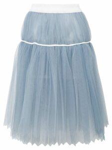 COMME DES GARÇONS PRE-OWNED midi tutu skirt - Blue