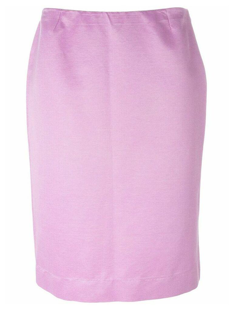 Dolce & Gabbana Vintage straight skirt - Pink