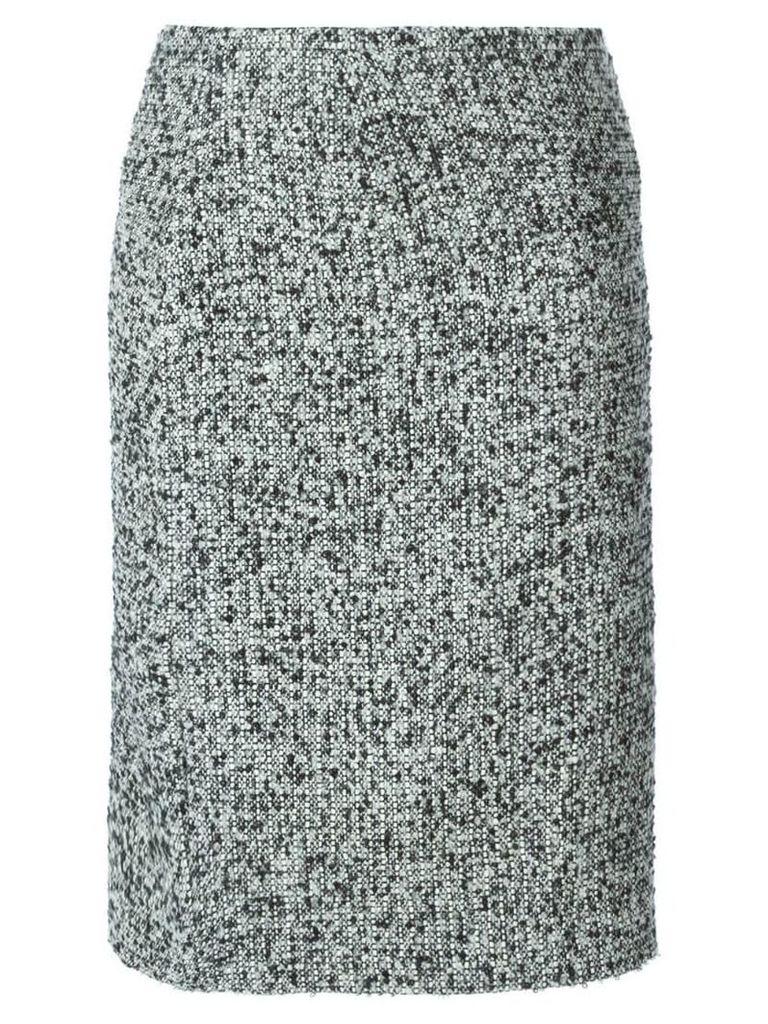 Jean Louis Scherrer Vintage bouclé skirt - Black