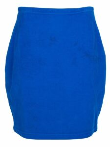 Versace Pre-Owned denim skirt - Blue