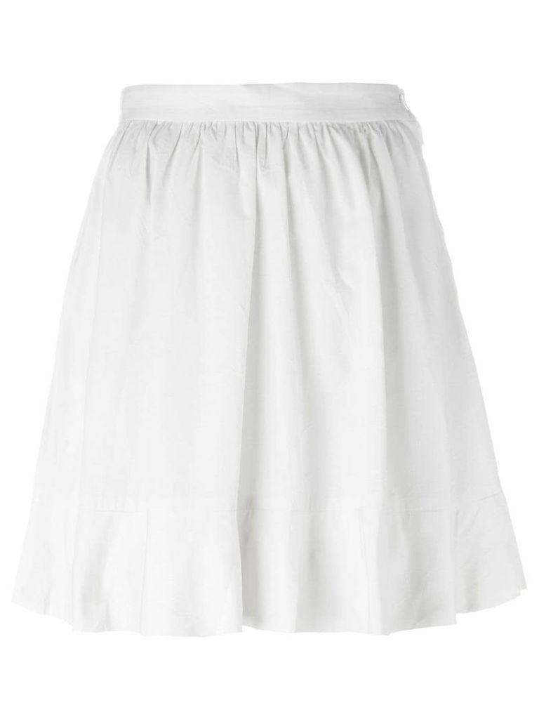 Comme Des Garçons Vintage flared skirt - White