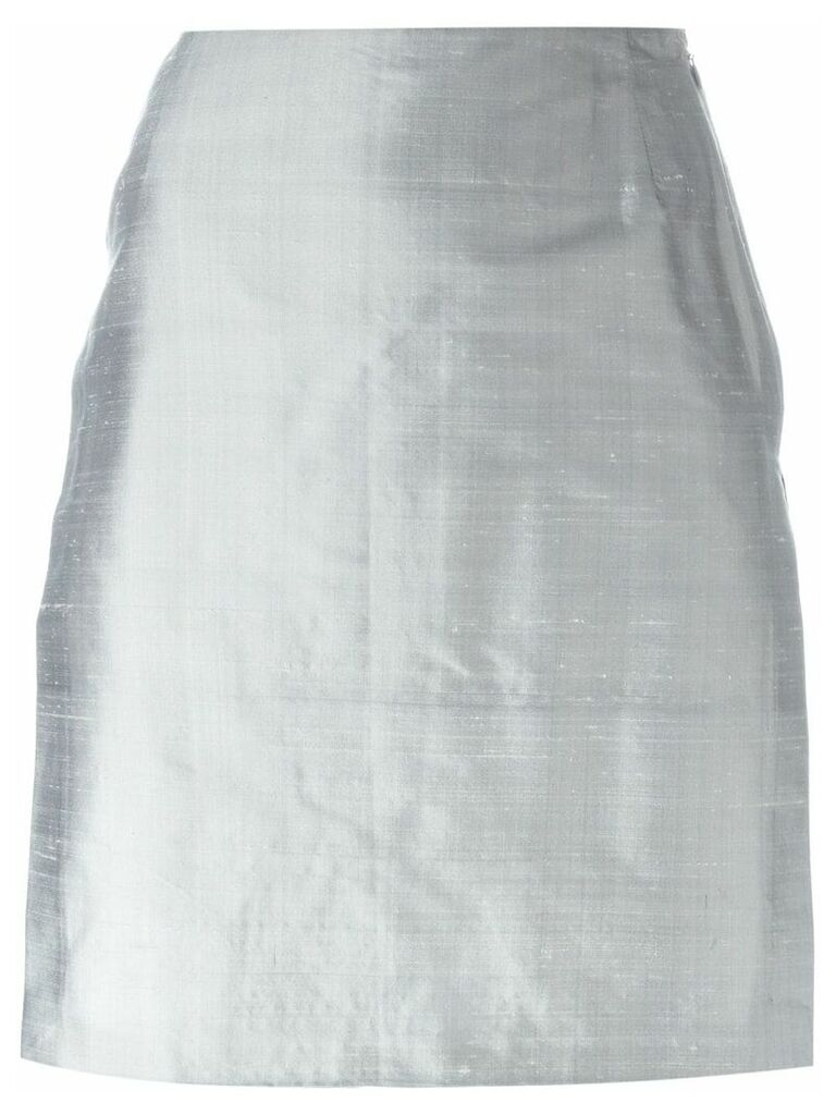 Romeo Gigli Vintage side slit skirt - Grey