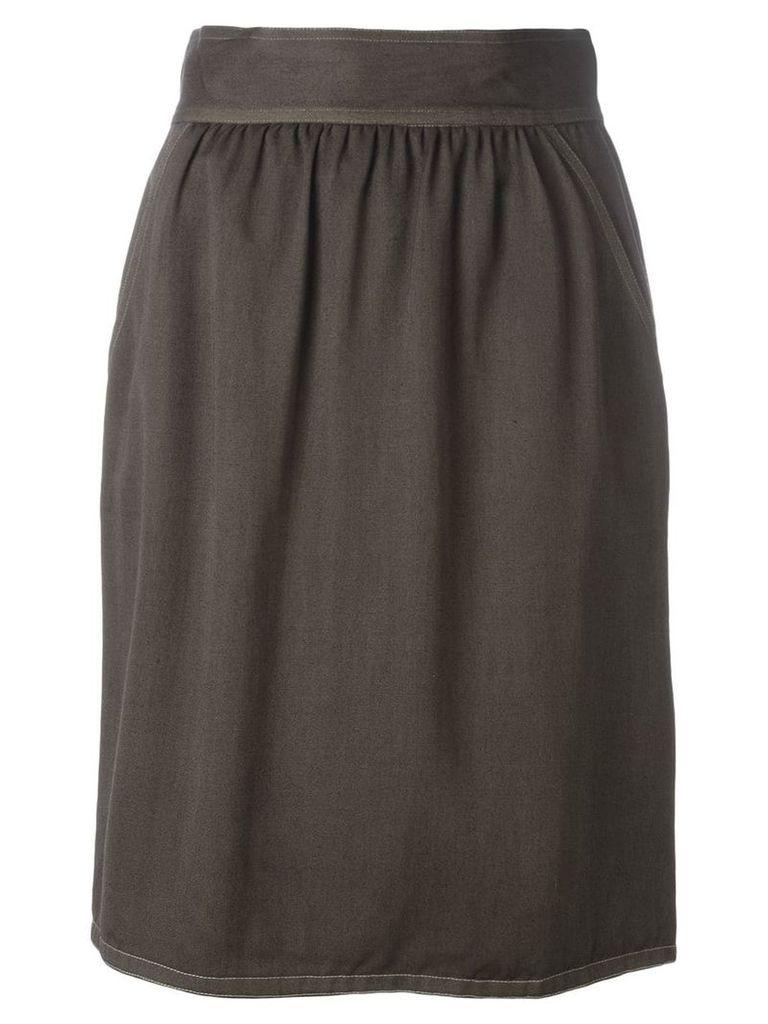 Fendi Vintage high waist skirt - Brown