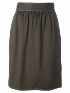 FENDI PRE-OWNED high waist skirt - Brown