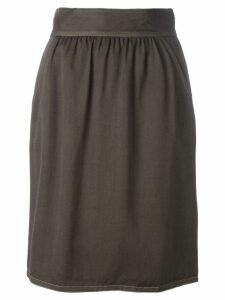 Fendi Pre-Owned high waist skirt - Brown