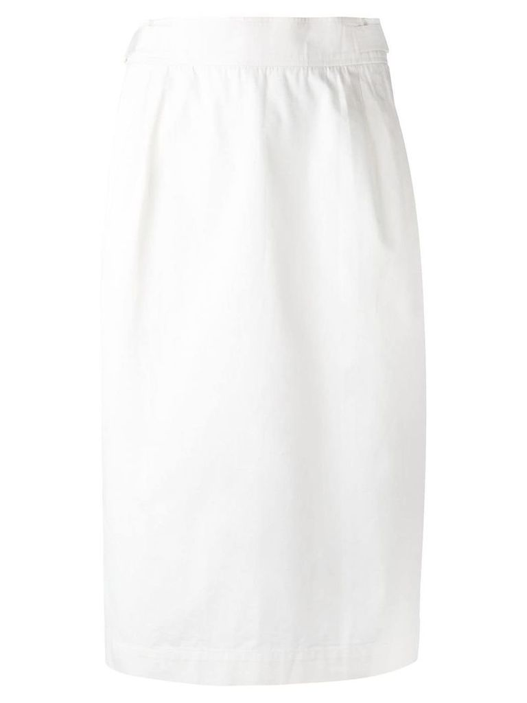 Yves Saint Laurent Vintage vintage skirt - White
