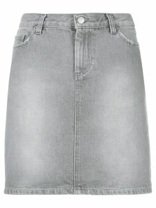 Helmut Lang Pre-Owned short denim skirt - Grey