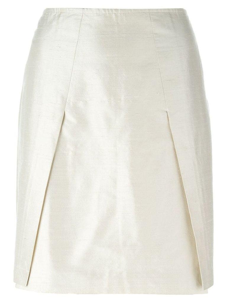Romeo Gigli Vintage mini pencil skirt - Neutrals