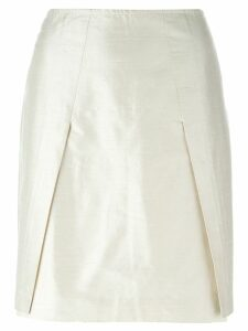 Romeo Gigli Pre-Owned mini pencil skirt - Neutrals