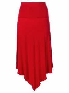 Jean Paul Gaultier Pre-Owned asymmetric skirt - Red