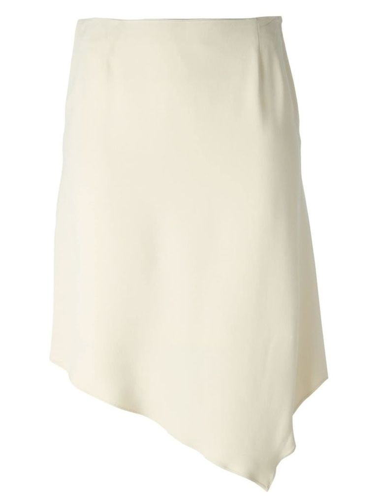 Jean Louis Scherrer Vintage asymmetric skirt - Neutrals