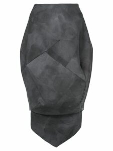 Comme Des Garçons Pre-Owned bleach balloon skirt - Grey