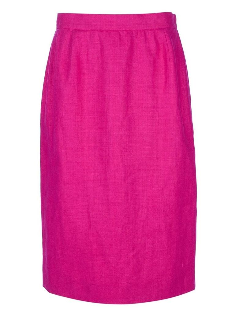 Yves Saint Laurent Vintage pencil skirt - Pink