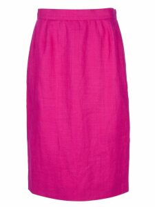 Yves Saint Laurent Pre-Owned pencil skirt - Pink