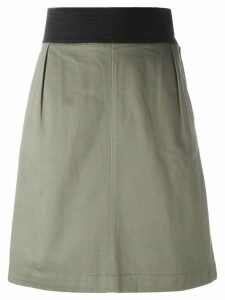 Yves Saint Laurent Pre-Owned A-line skirt - Grey