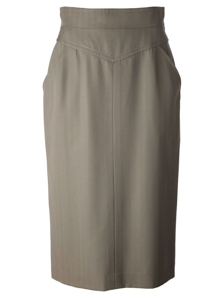 Christian Dior Vintage midi skirt - Green
