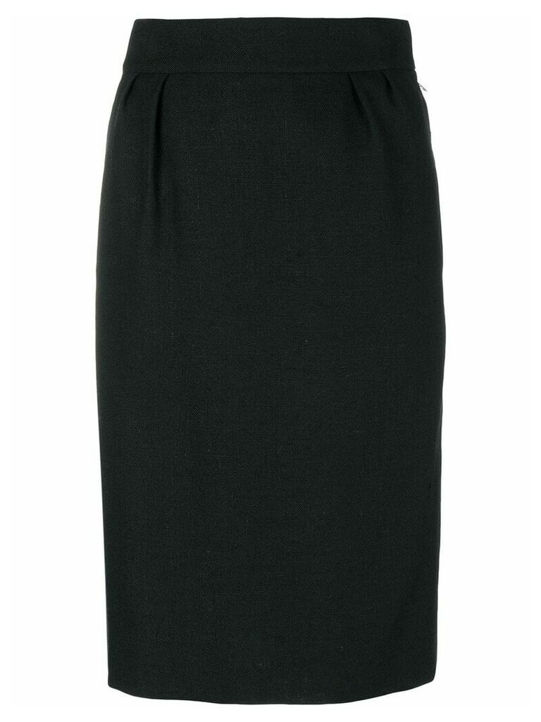 Hermès Vintage pencil skirt - Black