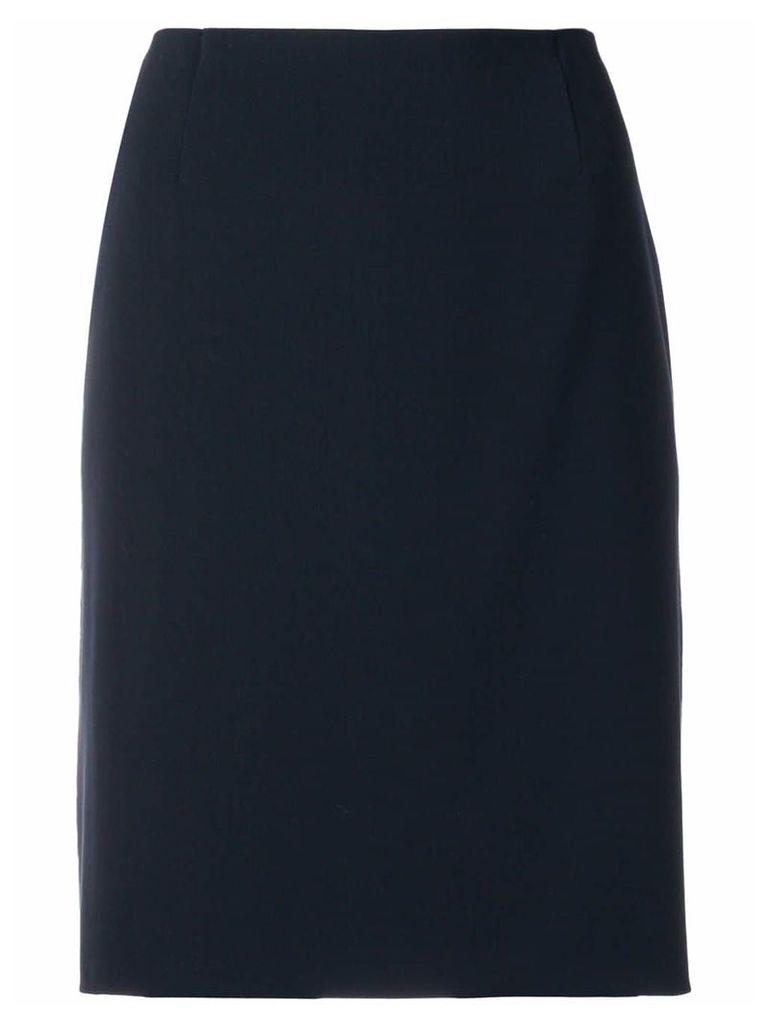 Giorgio Armani Vintage classic pencil skirt - Black