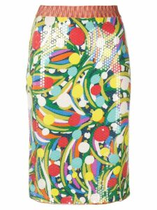 MISSONI PRE-OWNED sequinned fitted skirt - Multicolour
