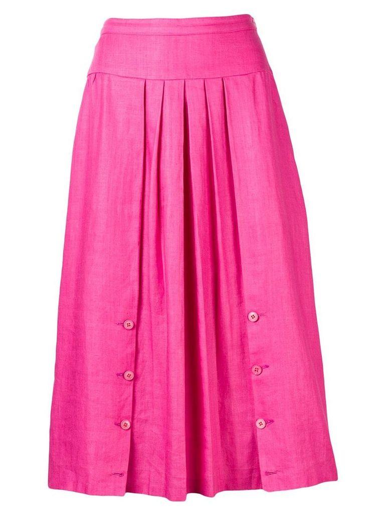 Valentino Vintage pleated skirt - Pink