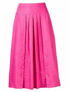 Valentino Pre-Owned pleated skirt - Pink
