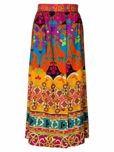 William Vintage SAKS 5TH AVENUE print skirt - Multicolour