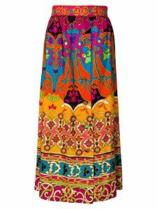William Vintage SAKS 5TH AVENUE print skirt - Multicolour