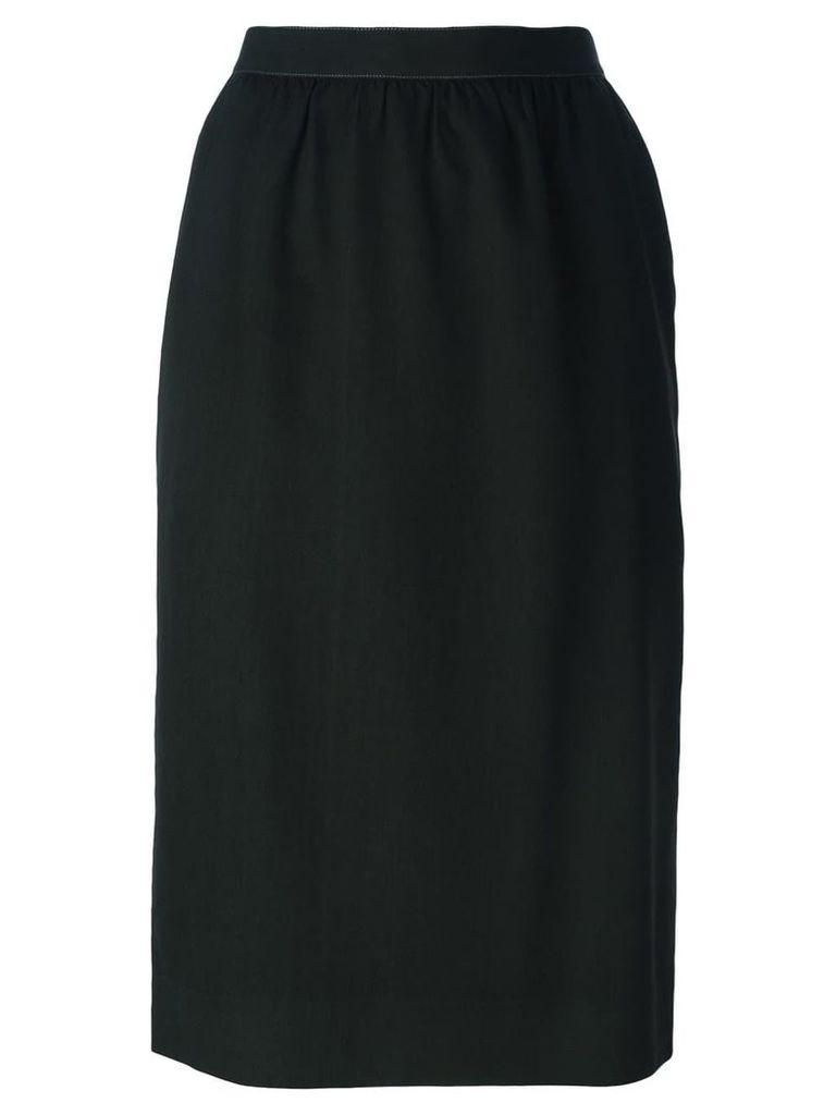 Guy Laroche Vintage straight fit skirt - Green