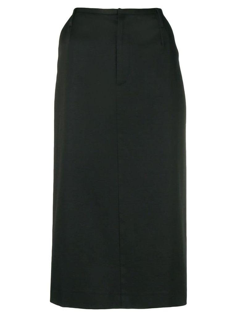 Dolce & Gabbana Vintage high-waist fitted skirt - Black