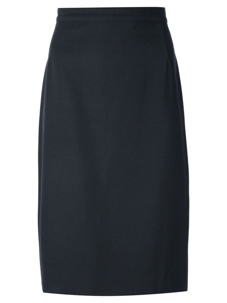 Krizia Pre-Owned pencil skirt - Black