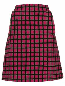 Prada Pre-Owned geometric mini skirt - Pink