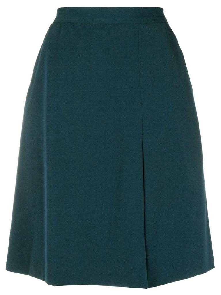Yves Saint Laurent Vintage A-line short skirt - Green