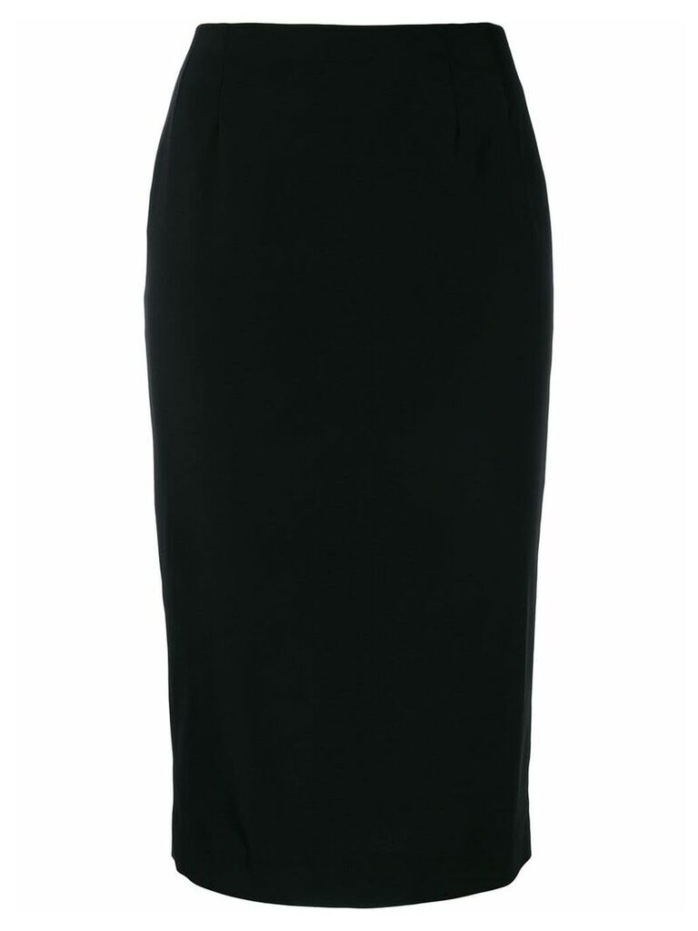 Dolce & Gabbana Vintage fitted midi skirt - Black