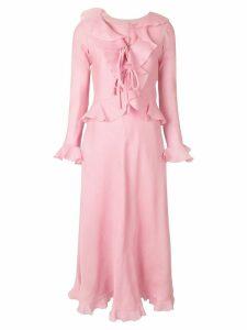 A.N.G.E.L.O. Vintage Cult jacket & dress set - Pink