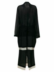 Comme Des Garçons Pre-Owned 1993 Skirt and Cardigan Ensemble - Blue