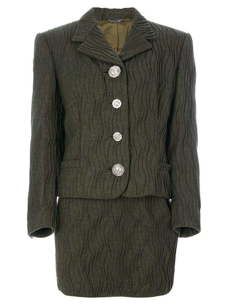 Versace Vintage pinafore & jacket set - Green