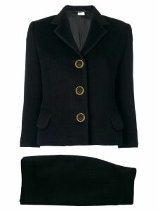 Versace Pre-Owned classic skirt suit - Black