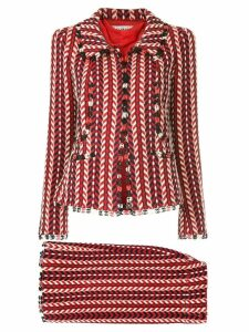 Chanel Pre-Owned Mademoiselle skirt suit - Red