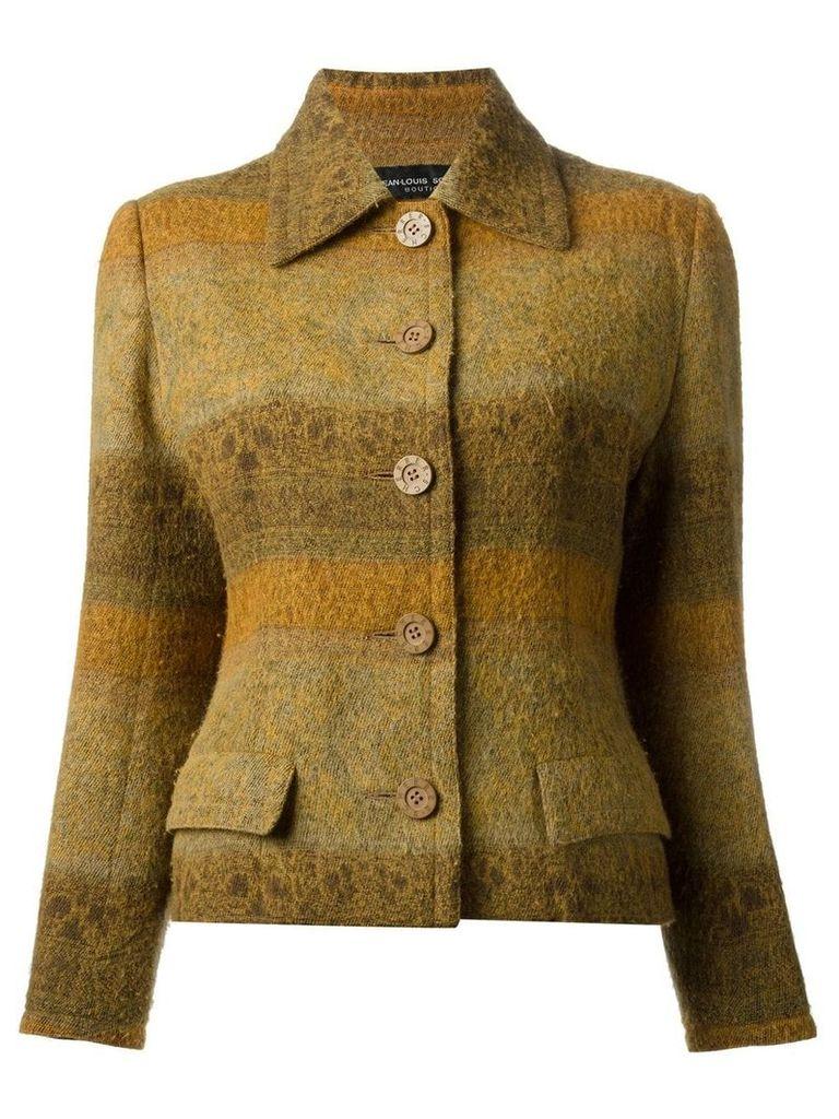 Jean Louis Scherrer Vintage skirt suit - Yellow