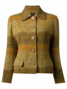 Jean Louis Scherrer Pre-Owned skirt suit - Yellow