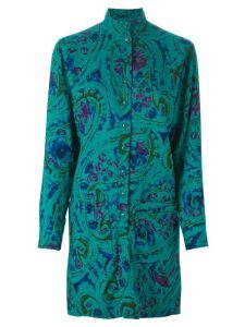 Jean Louis Scherrer Pre-Owned floral skirt suit - Green
