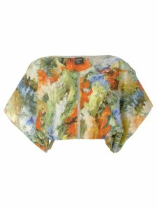 Jean Paul Gaultier Pre-Owned abstract print cropped blouse -