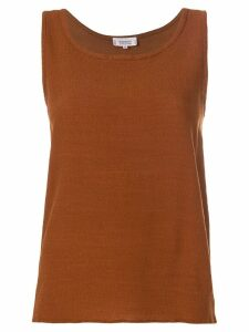 Yves Saint Laurent Pre-Owned classic tank top - Brown
