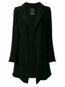 Yohji Yamamoto Pre-Owned knitted long cardigan - Black