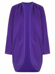 Emanuel Ungaro Pre-Owned open front cardigan - Purple