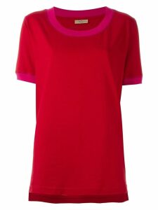 Romeo Gigli Pre-Owned scoop neck T-shirt - Red
