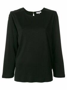 Yves Saint Laurent Pre-Owned long-sleeve blouse - Black