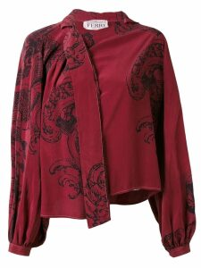 Gianfranco Ferre Pre-Owned printed shirt - Red