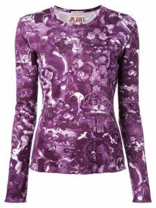 Jean Paul Gaultier Pre-Owned babies print T-shirt - Pink